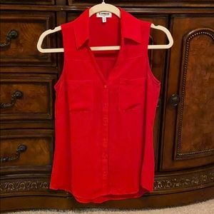 Red Express Sleeveless Portofino Shirt